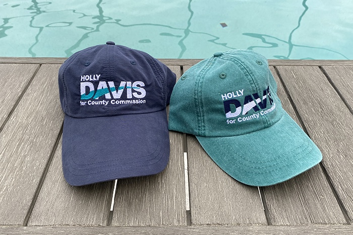Holly Davis Campaign hats